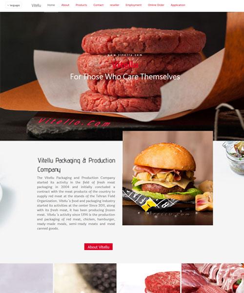 تصميم موقع الشركة